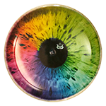 Convict DyeMax Colorful Eye