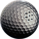 Judge Fuzion DyeMax Golf Ball