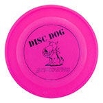 Dog Sitting Fastback Frisbee