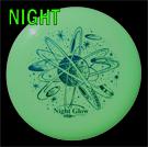 Night Glow 130g Classic Frisbee